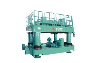 上工机械DAG1600钢立柱植入设备