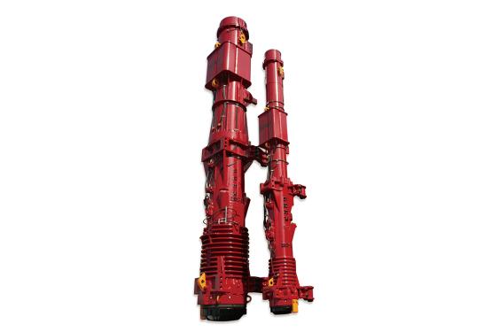 上工机械D100-13  1:5 1:2筒式柴油打桩锤