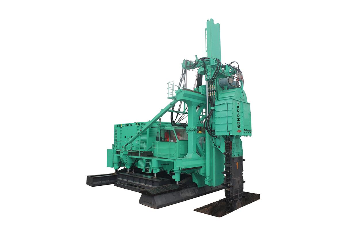 上工机械TRD-80EA工法机高清图 - 外观