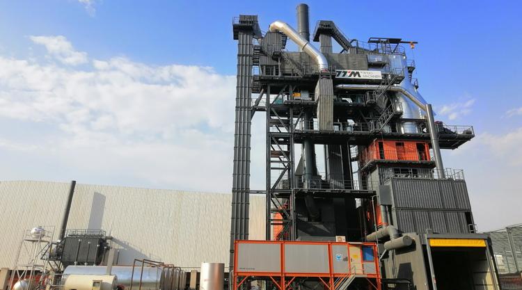 铁拓机械TSEC4030系列环保型逆流式沥青厂拌热再生成套设备高清图 - 外观