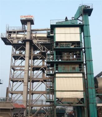 泉成机械QCR800沥青厂拌热再生设备(可配套原生1500、2000、3000)