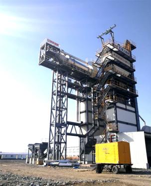 泉成机械QCR1000沥青厂拌热再生设备(可配套原生1500、2000、3000、4000)