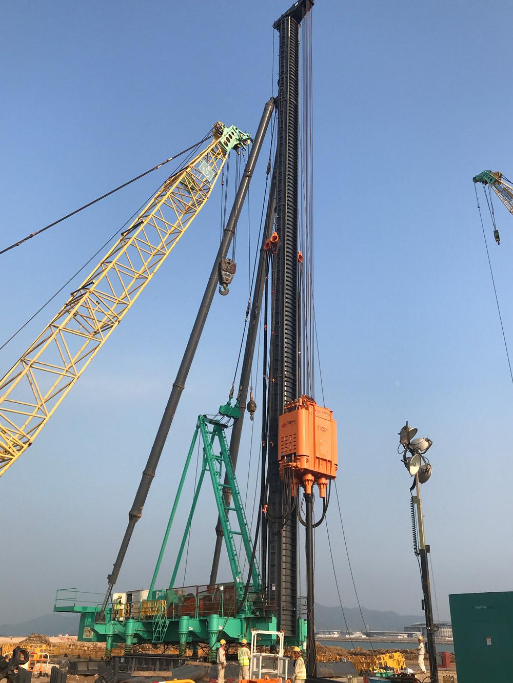 上工机械DCM110/120-M1陆用 深层搅拌处理机  (组合式)高清图 - 外观