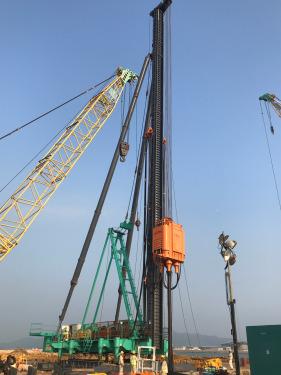 上工机械DCM110/120-M1陆用 深层搅拌处理机  (组合式)
