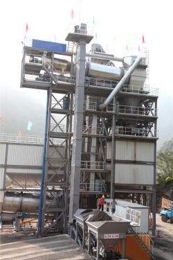 泉成机械QCM1006原生+再生沥青搅拌成套设备