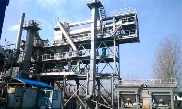泉成機械QCR600瀝青廠拌熱再生設備 (可配套原生1000、1500、2000)