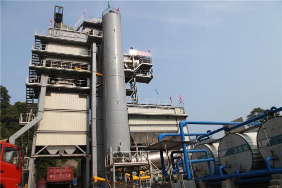 泉成机械QCM1510原生+再生沥青搅拌成套设备