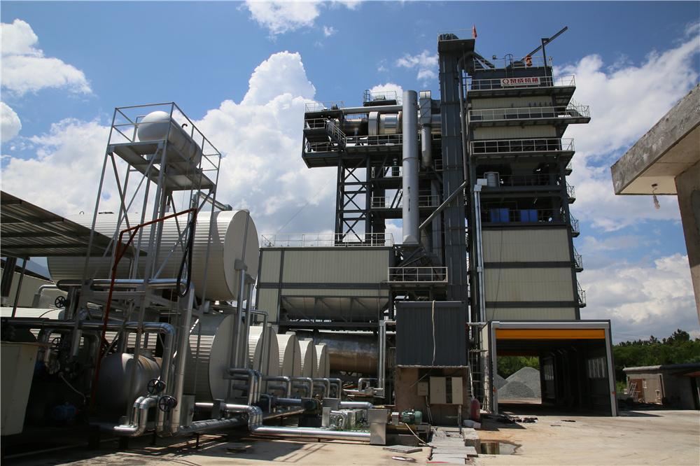 泉成机械QCM3010原生+再生沥青搅拌成套设备高清图 - 外观
