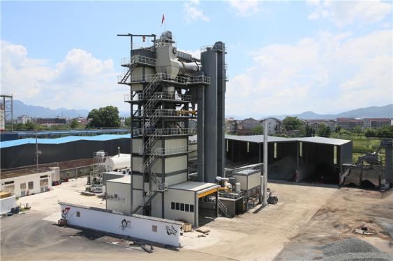 泉成机械QCM3020原生+再生沥青搅拌成套设备