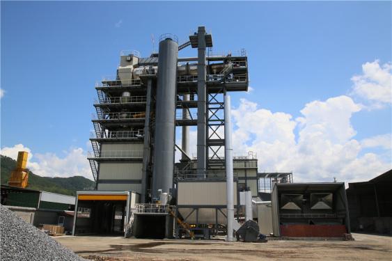 泉成机械QCM4020原生+再生沥青搅拌成套设备