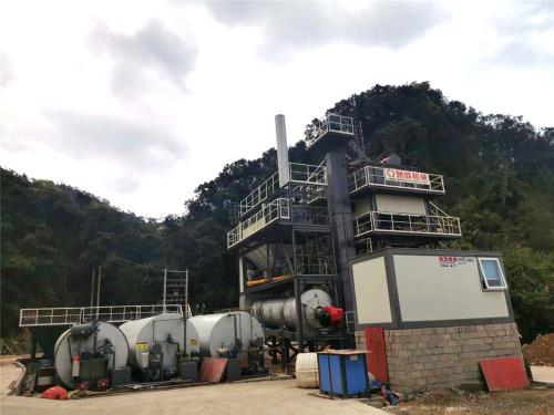 泉成机械QC-800固定式沥青搅拌设备