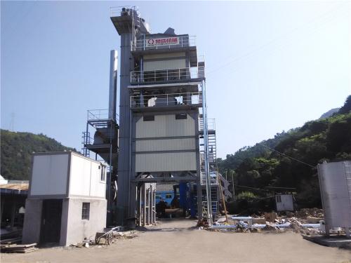 泉成机械QC-1000固定式沥青搅拌设备
