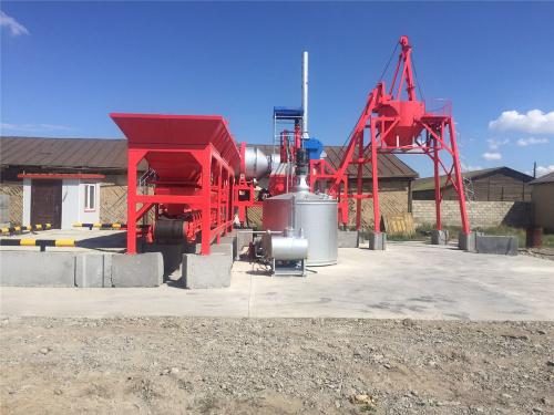 泉成机械QCQ-10移动强制式沥青搅拌设备