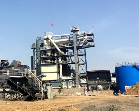 泉成机械QCR1500沥青厂拌热再生设备(可配套原生2000、3000、4000)