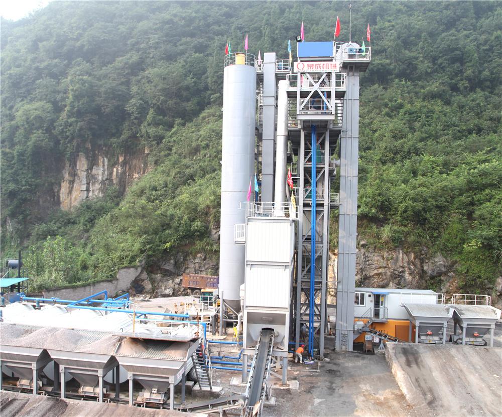 泉成机械QCM1508原生+再生沥青搅拌成套设备高清图 - 外观