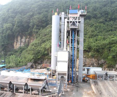 泉成机械QCM1508原生+再生沥青搅拌成套设备