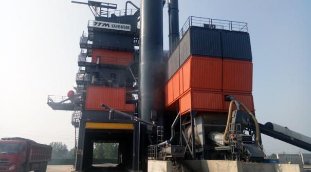 铁拓机械TSEC4030系列环保型逆流式沥青厂拌热再生成套设备