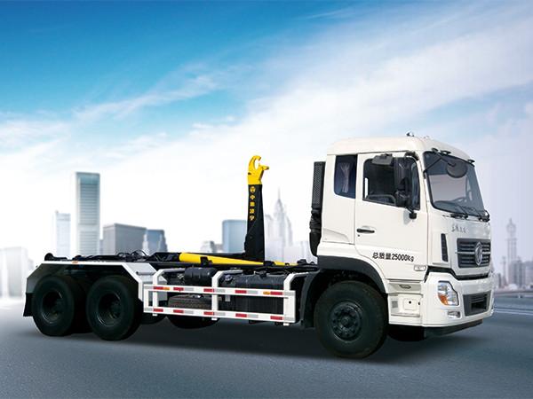 凌宇汽车CLY53127XXE5车厢可卸式垃圾车高清图 - 外观