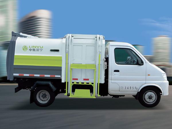 凌宇汽车CLY5071ZZZE5自装卸式垃圾车高清图 - 外观
