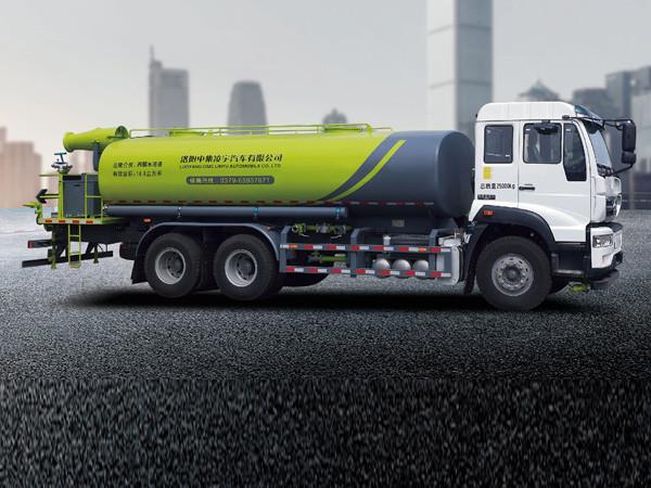 凌宇汽车CLY5250GPSE51绿化喷洒车高清图 - 外观