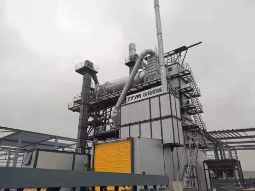 铁拓机械TSE4020系列环保型沥青混合料厂拌热再生成套设备