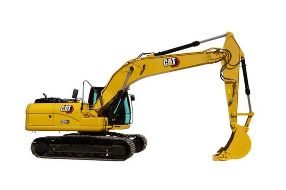 卡特彼勒320 GX挖掘机高清图 - 外观