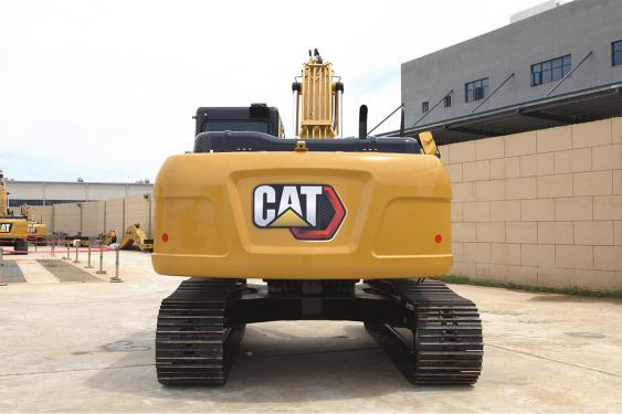 卡特彼勒Cat®  323 GX液压挖掘机高清图 - 外观