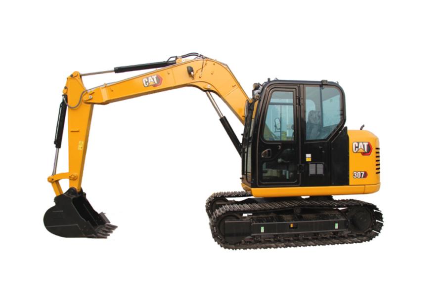 卡特彼勒CAT®307小型液压挖掘机