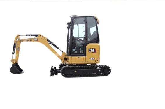 【多图】Cat®302 CR迷你型挖掘机细节图_高清图