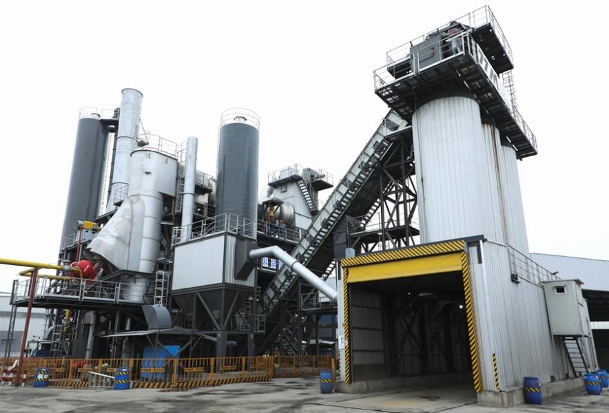 铁拓机械连续式沥青混合料搅拌设备