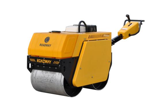 路得威RWYL32小型高配置手扶式双钢轮压路机