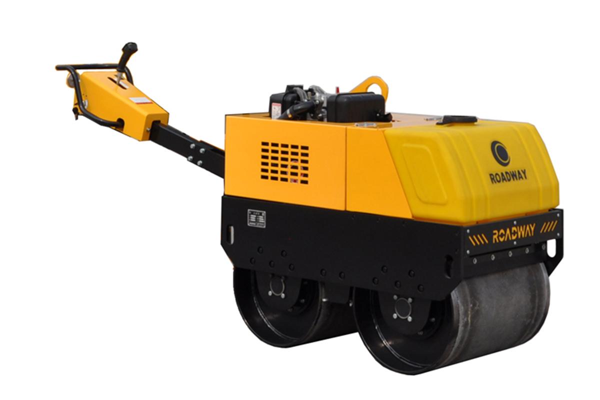 路得威RWYL32C小型高配置手扶式双钢轮压路机高清图 - 外观