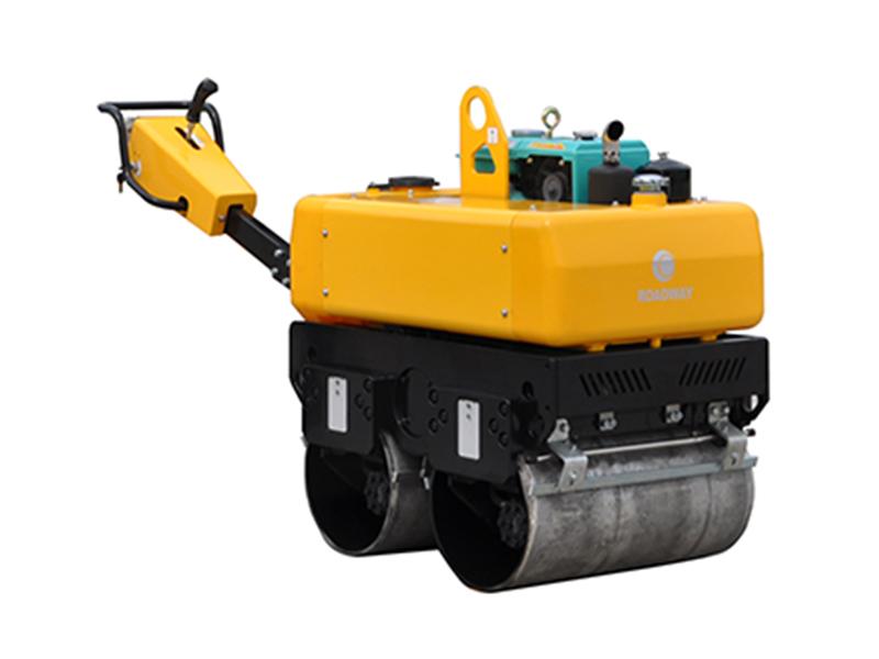 路得威RWYL34BS小型高配置水冷手扶式双钢轮压路机高清图 - 外观