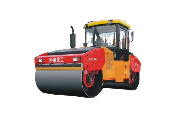 科泰重工KD136HF双钢轮压路机