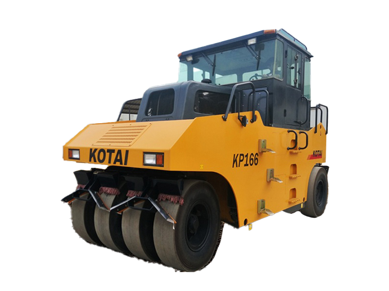 科泰重工KP166轮胎压路机高清图 - 外观