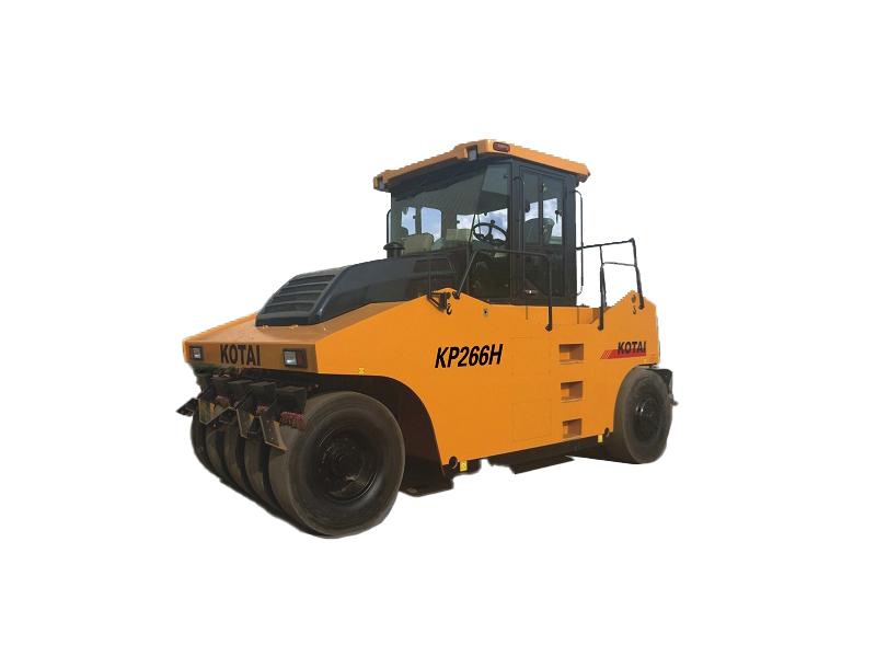 科泰重工KP266H轮胎压路机高清图 - 外观