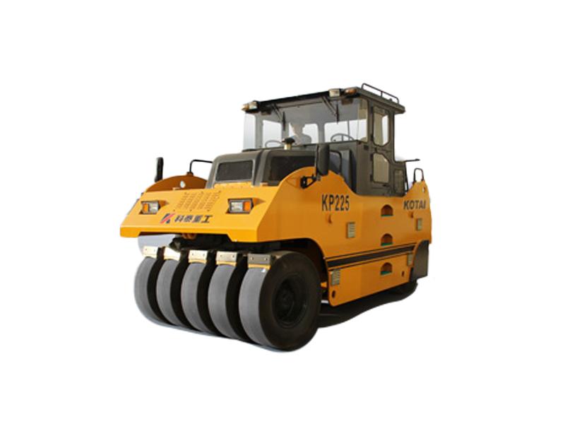 科泰重工KP225轮胎压路机高清图 - 外观