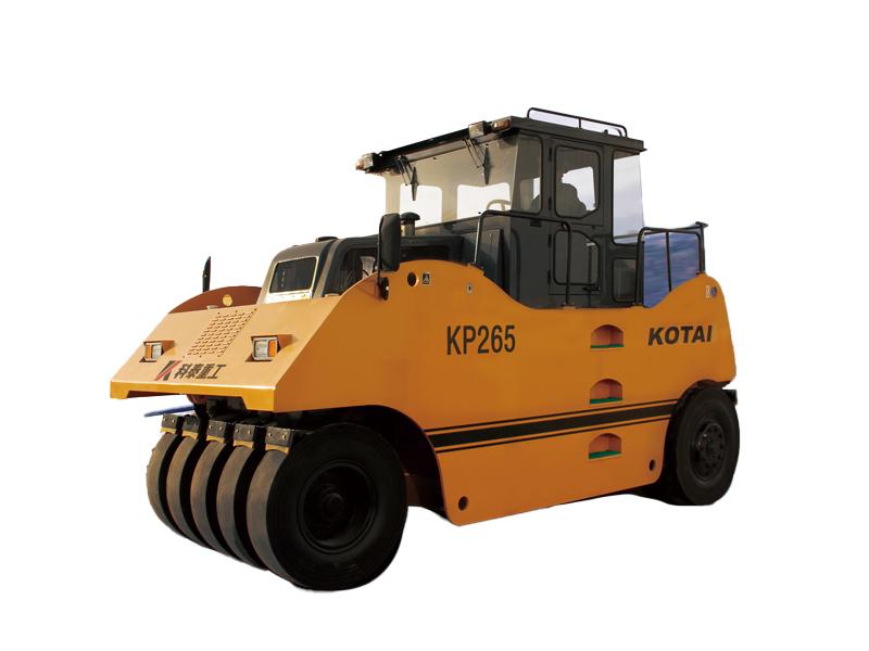 科泰重工KP265轮胎压路机高清图 - 外观