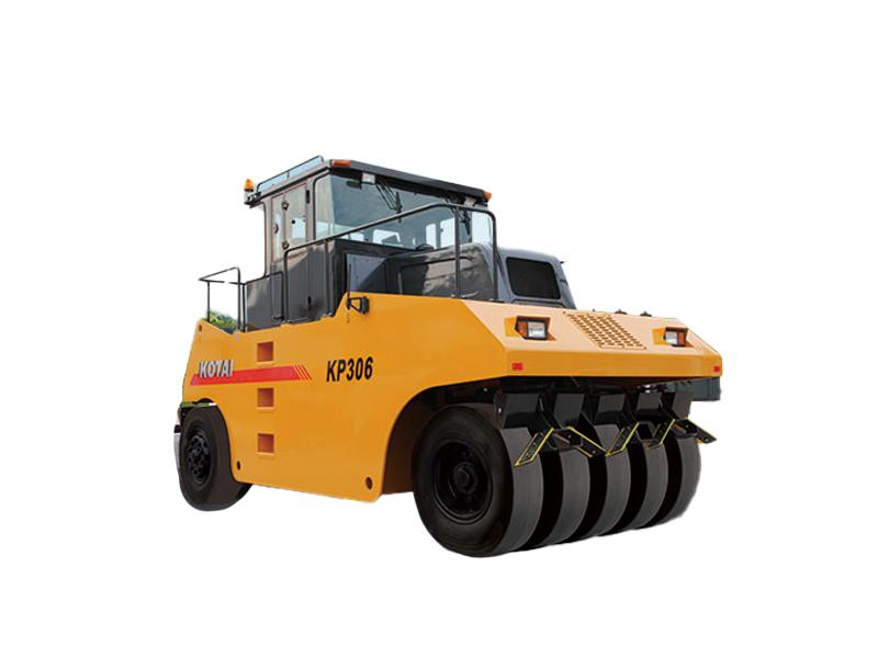 科泰重工KP306轮胎压路机高清图 - 外观