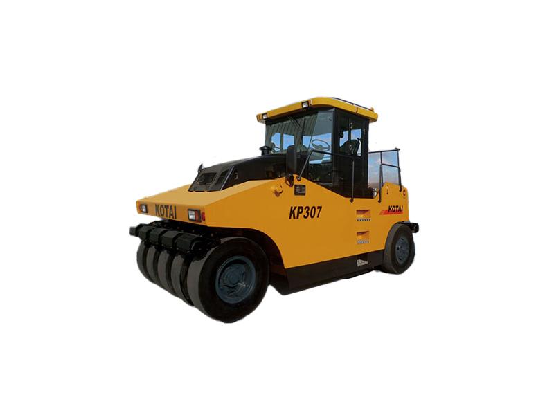 科泰重工KP307全液压轮胎压路机高清图 - 外观