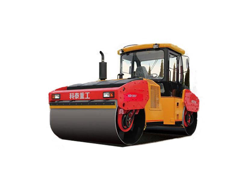 科泰重工KD136F双钢轮压路机高清图 - 外观