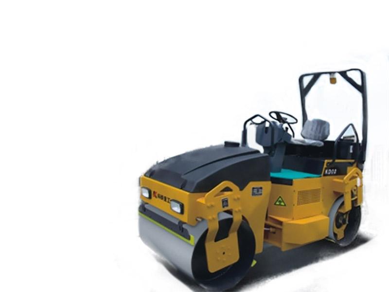 科泰重工KD03全液压双钢轮振动压路机高清图 - 外观