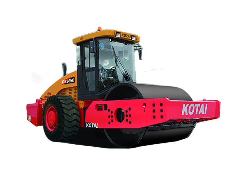 科泰重工KS265D单钢轮压路机(双驱)高清图 - 外观