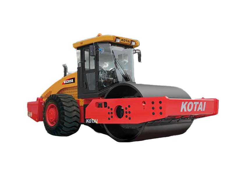 科泰重工KS205S单钢轮振动压路机(单驱)高清图 - 外观