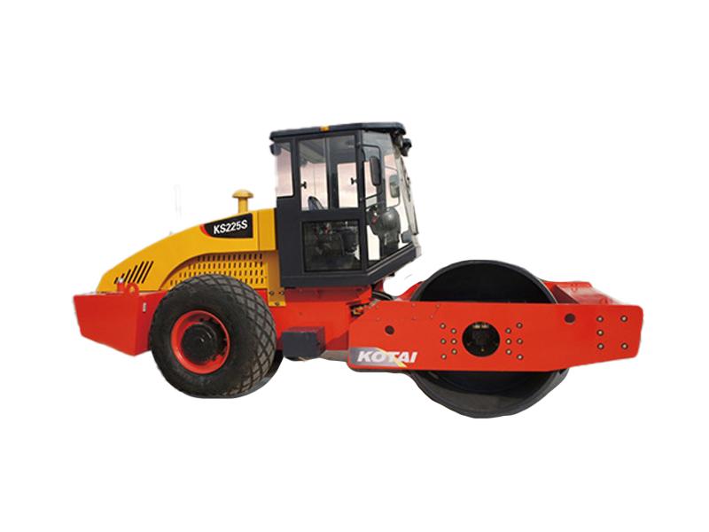科泰重工KS225S单钢轮振动压路机(单驱)高清图 - 外观