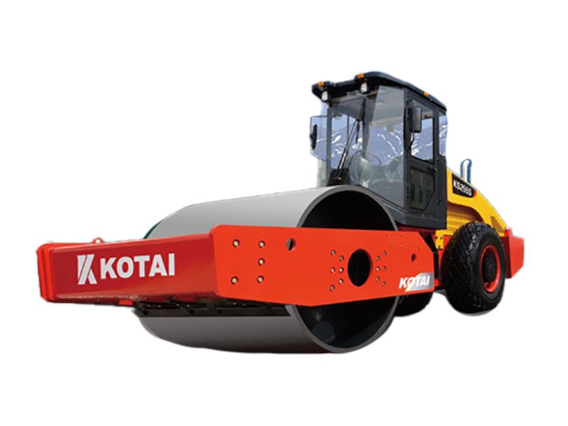 科泰重工KS255S单钢轮振动压路机(单驱)高清图 - 外观