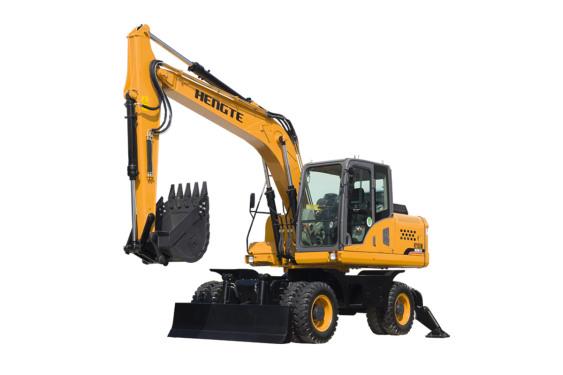恒特HT155W轮式挖掘机 中小型轮挖
