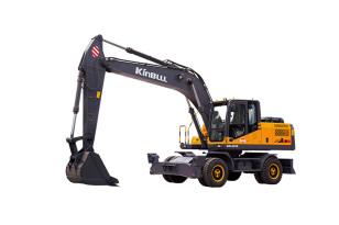 勤牛QNL220E轮式挖掘机