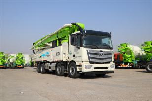 雷萨重机BJ5449THB-XF(L10-62米)泵车