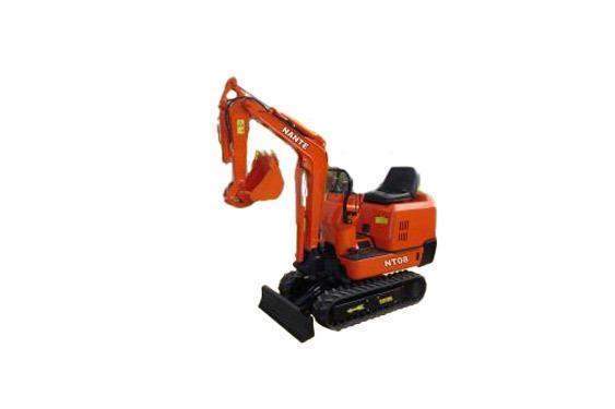 南特NT08全液压履带式挖掘机高清图 - 外观
